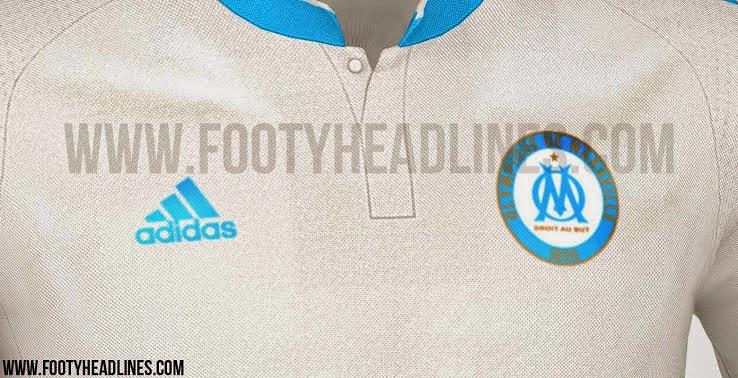 jual online jersey terbaru Jersey Olympique Marseille home musim depan 2015/2016