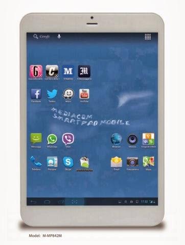 Il nuovo tablet 3G di Mediacom con nuovo chipset e design sottile