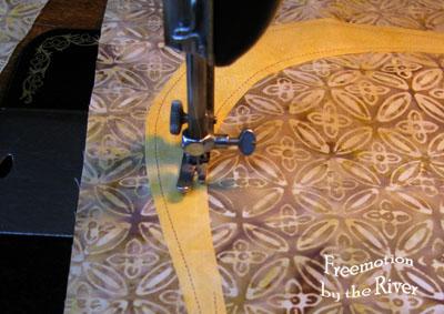 Stitching on Texas Teardrops