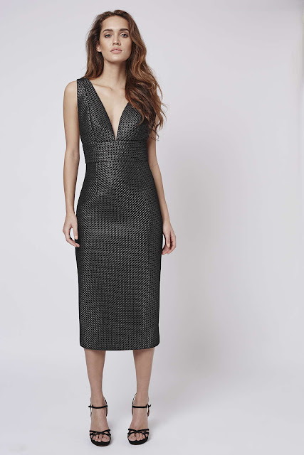 metallic midi dress, black cross back dress,