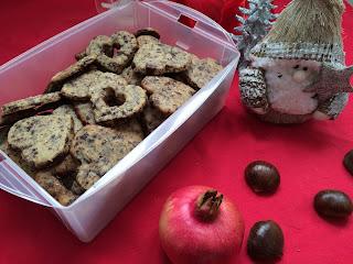 biscotti con gocce di cioccolato e cocco rapè (idee regalo natale)