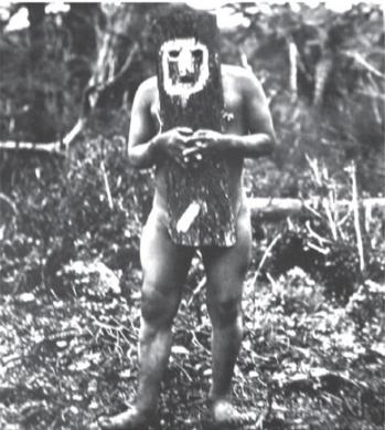 Fuegian mask