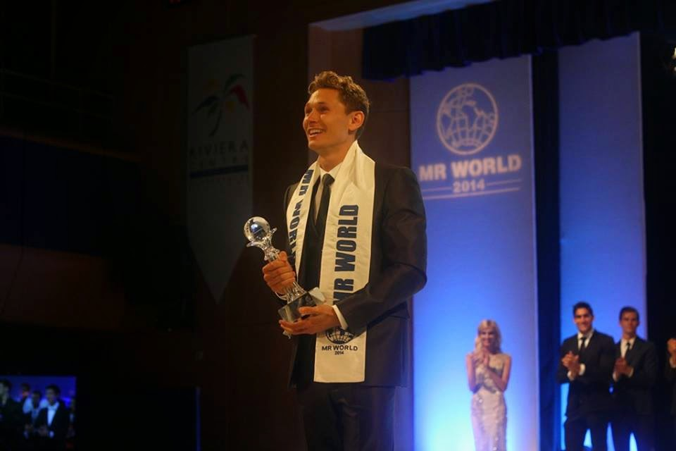 Mister World 2014 winner Denmark Nicklas Pedersen
