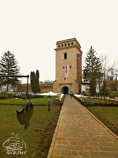 turn manastirea golia iasi februarie 2013
