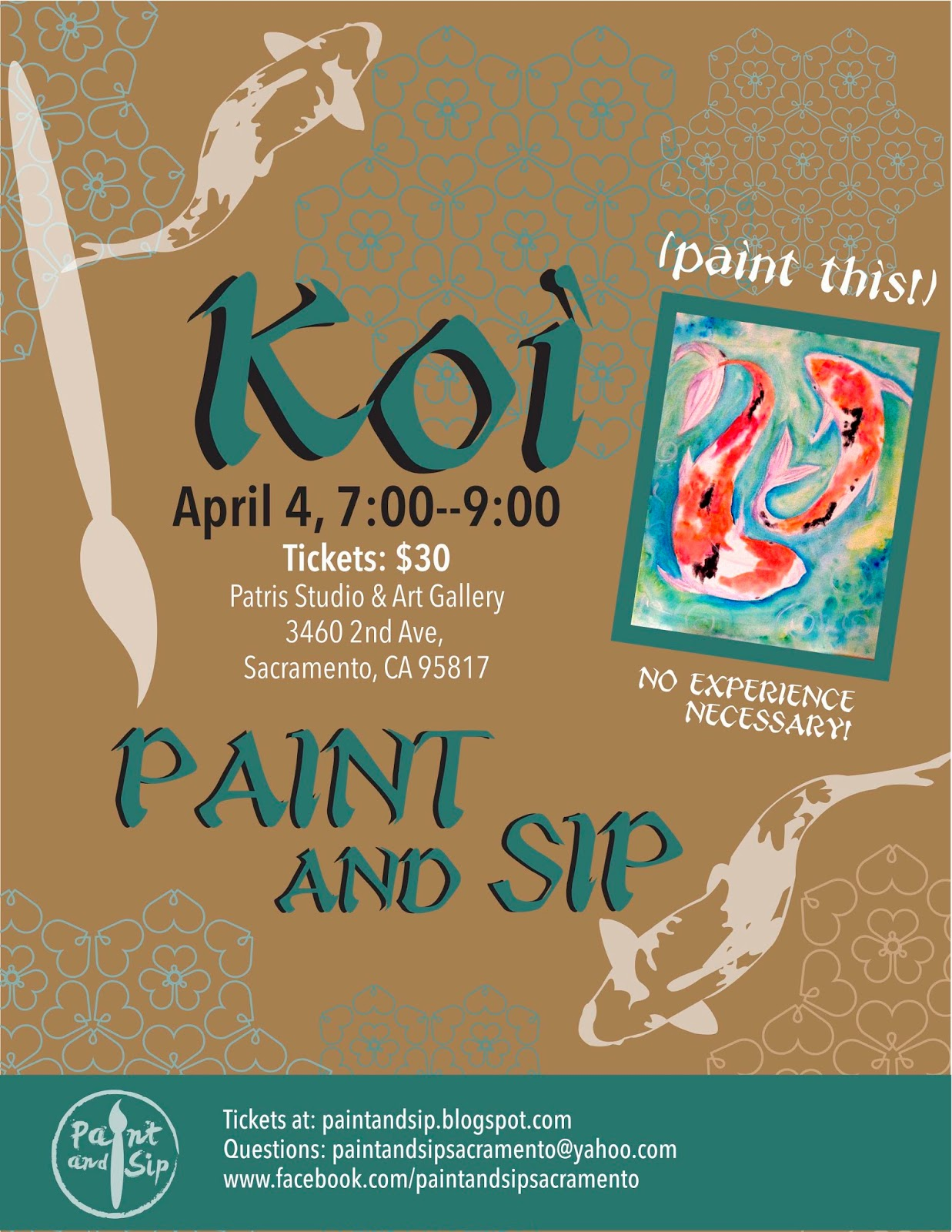 Paint and sip for Sip and paint