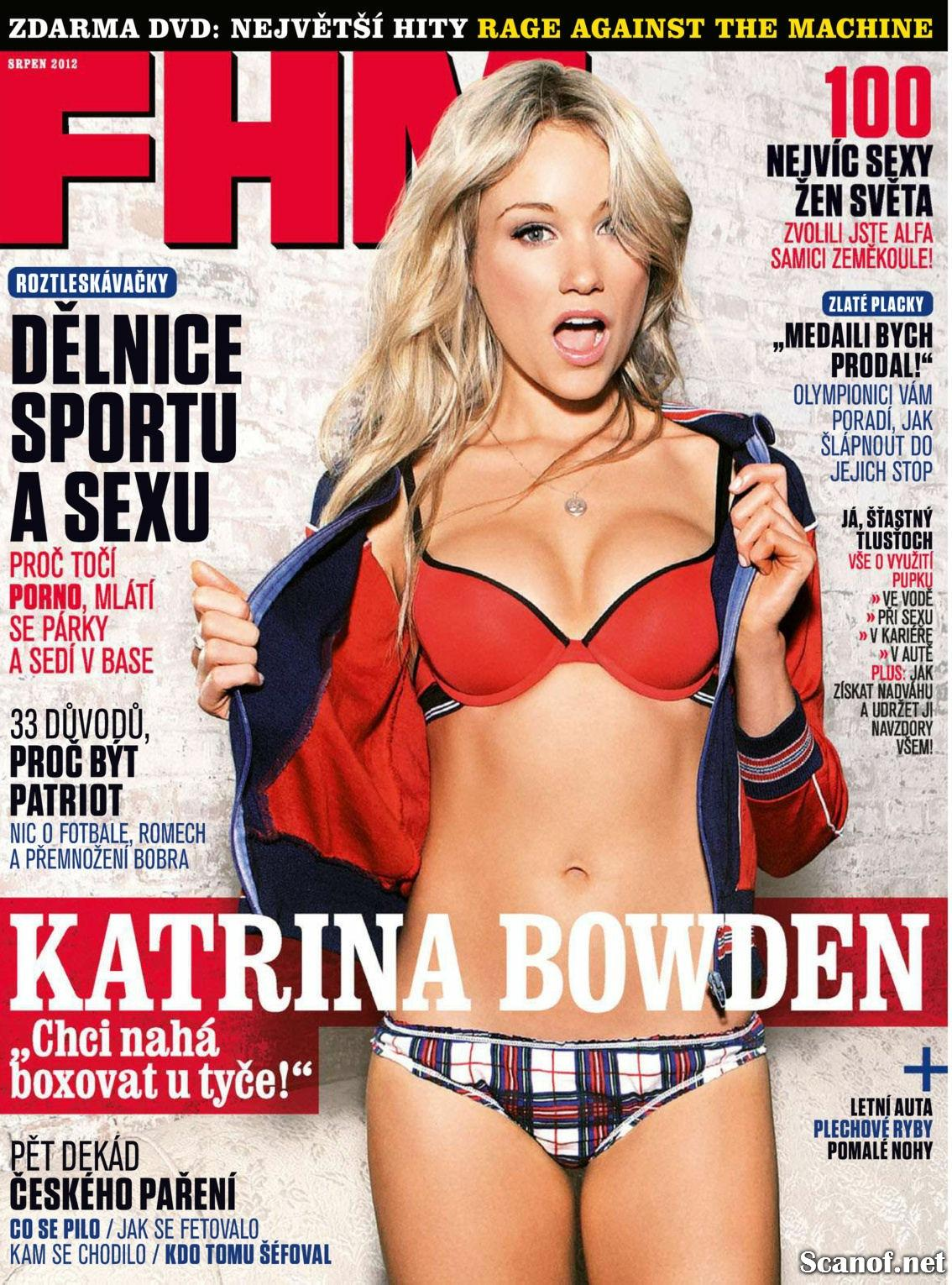 Katrina Bowden FHM, Czech Republic, August 2012