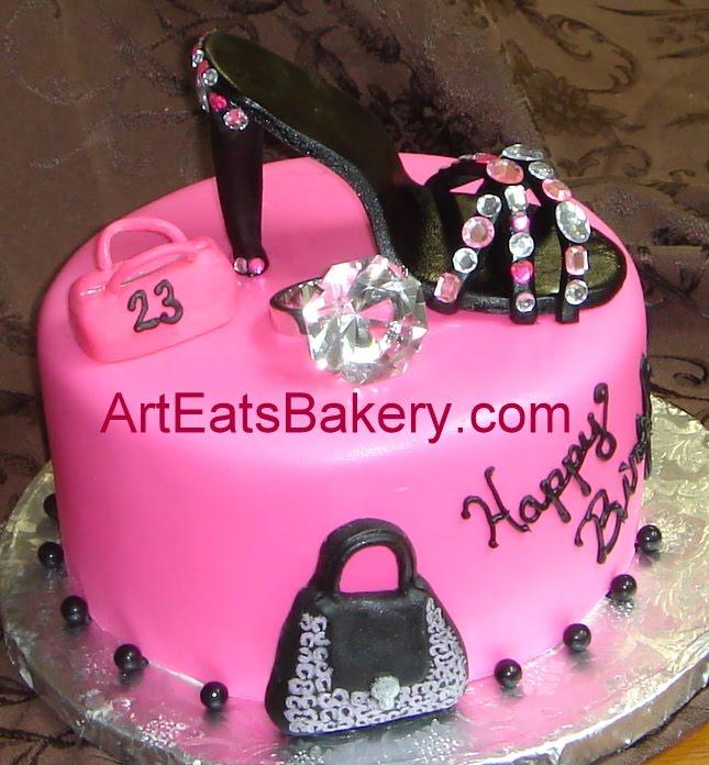 Custom Cake Designs Uk : Art Eats Bakery custom fondant wedding and birthday cake ...