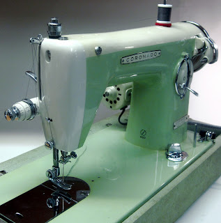 mi vintage sewing machines: coronado brother (1950's)
