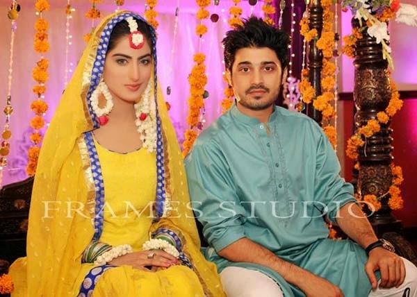 Humayun Saeed Wedding Pictures With Ayesha Khan   www ...