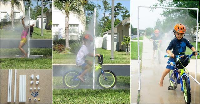 DIY Kid Wash Sprinkler Out of PVC