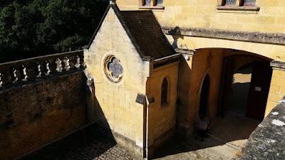 Castell de Puymartin. Capella