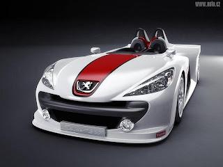 foto gambar mobil ferari putih