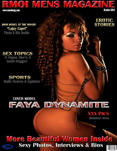 Faya Dynamite Cover Model On Rmoi Mens Magazine