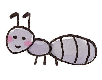 アリのイラスト(虫)