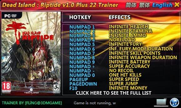 Dead Island Trainer Pc V
