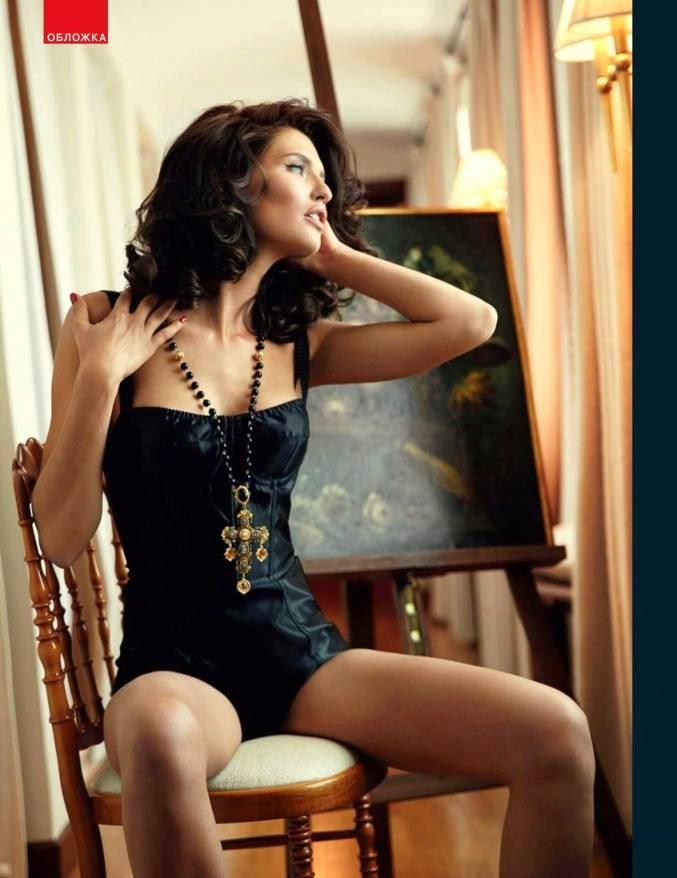Bianca Balti – GQ Russia Magazine (August 2014)