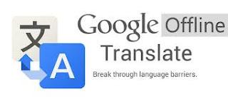 Google Translate Secara Offline