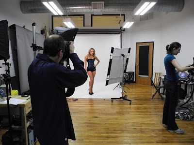 Behind The Scenes - Velvet Kitten Lingerie Shoot With Ali Sonoma