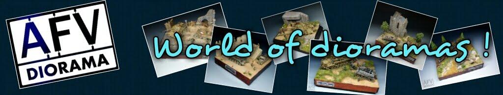 AFV-diorama