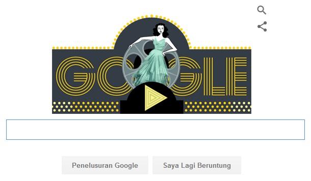 Profil Hedy Hedy Lamarr Matematikawan Tercantik Tampil Di Logo Google Doodle
