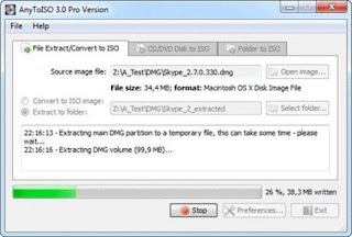 AnyToISO is a simple application which allows users to convert their files into ISO images. The ultimate ISO Creator for Windows: can create ISO from almost everything including all CD/DVD images formats