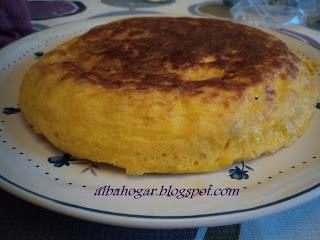 tortilla de patata albahogar