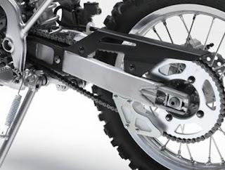 2012 Kawasaki KLX 140L aluminum swingarm