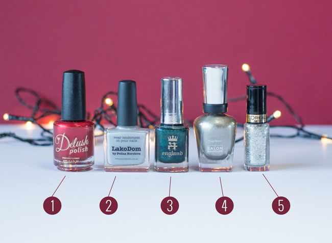 Top 5: Christmas Nail Colours