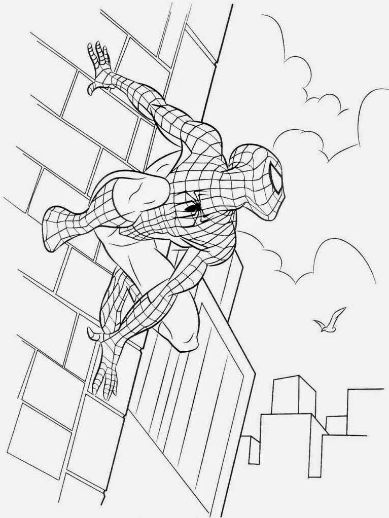 Spiderman free printable coloring pages coloring.filminspector.com