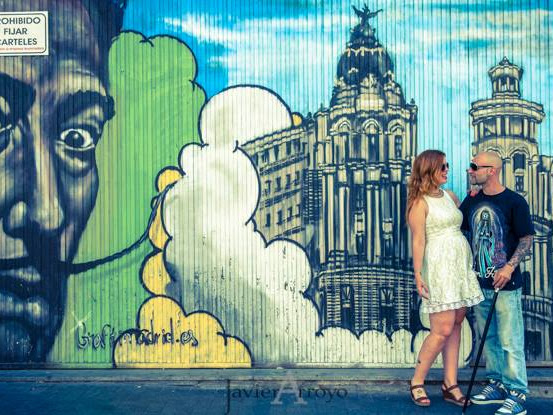 Inspiración: Sesión Preboda Urban Love de Javier Arroyo