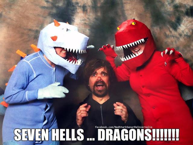 peter dinklage dragones - Juego de Tronos en los siete reinos