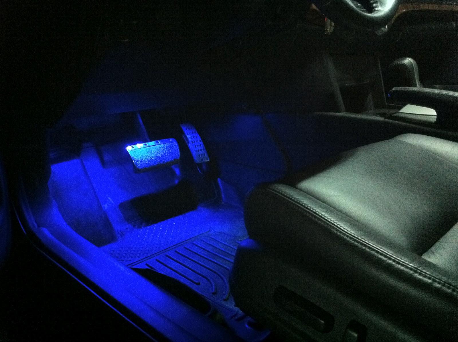 2011 Accord\/Inspire Build: Blue LED Car Interior Lighting Kit (4pc) LU-SC01