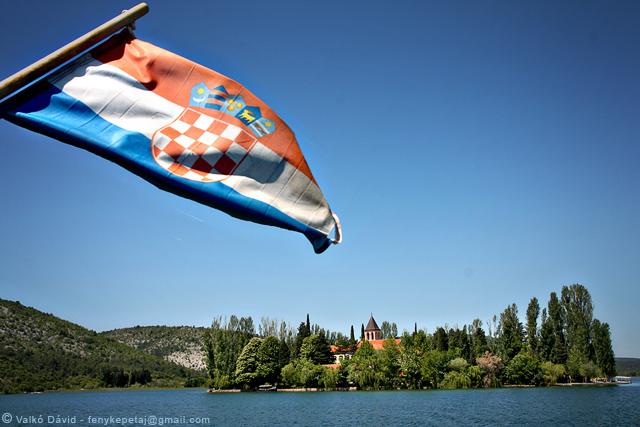 Visovac-sziget, Krka Nemzeti Park, Horvátország