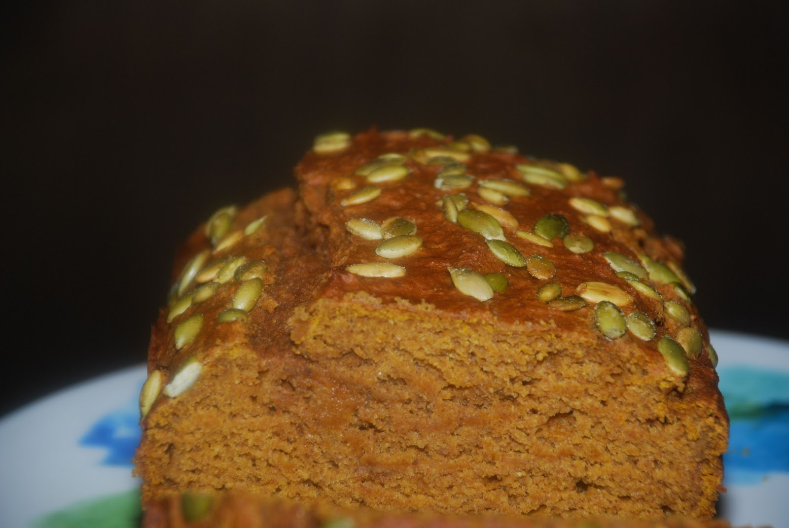 Tomatoes on the Vine: Olive Oil Pumpkin Bread