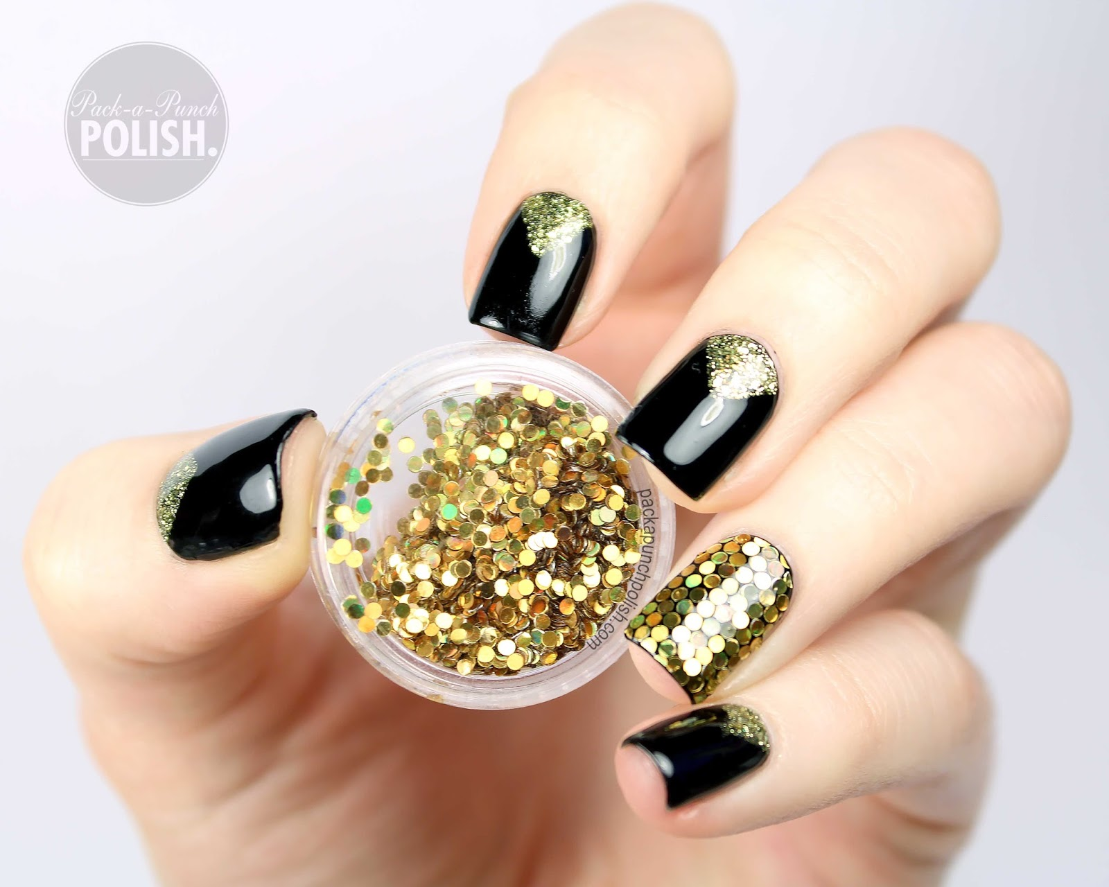 Old Fashioned New Year Design Nails Ideas - Nail Art Ideas ...