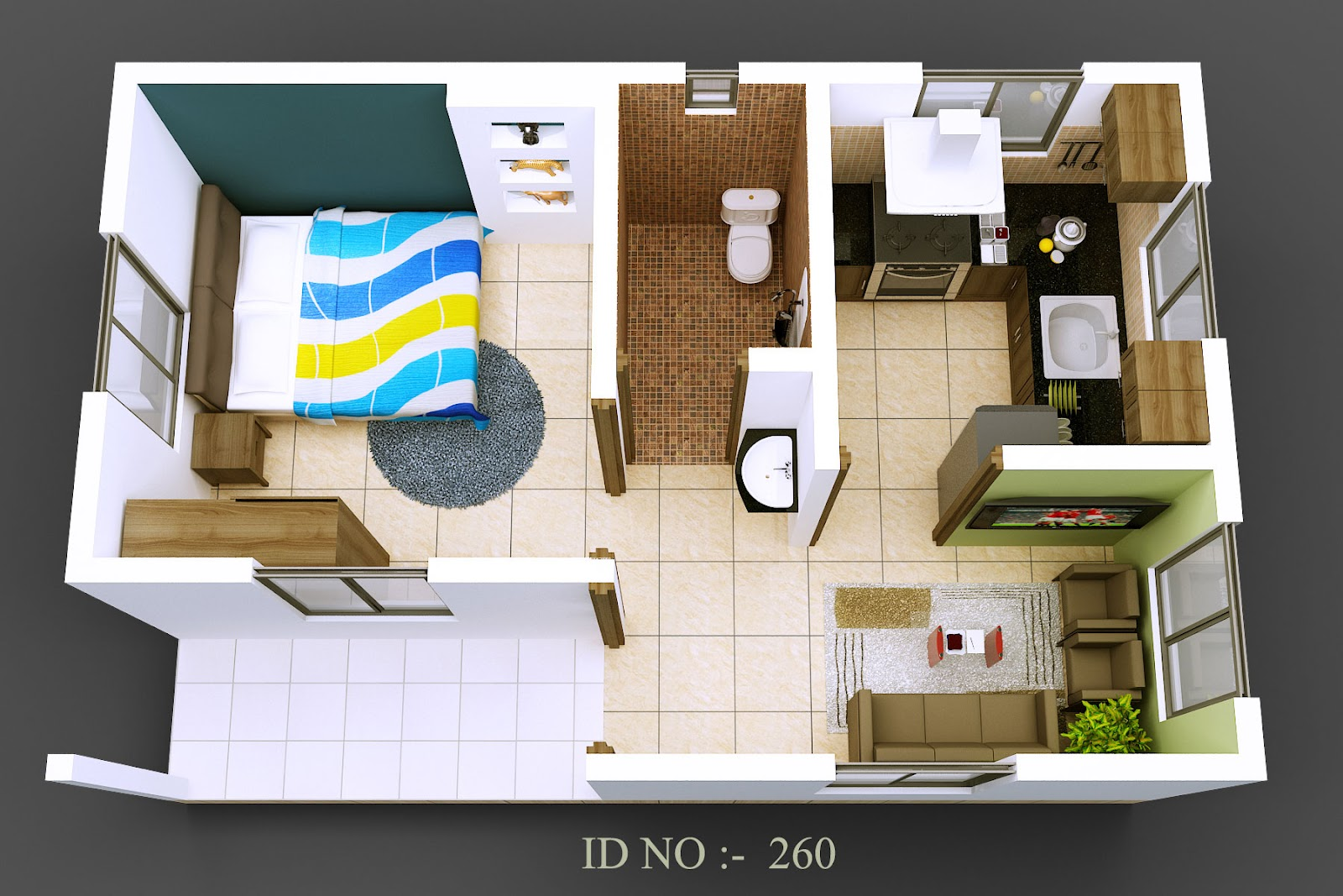 ... for the Virtual Decorator free 3D Home Design Software package
