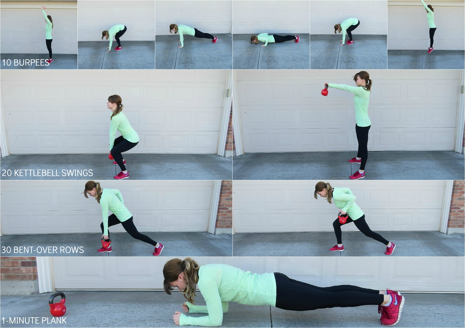 30 minute workout exercises