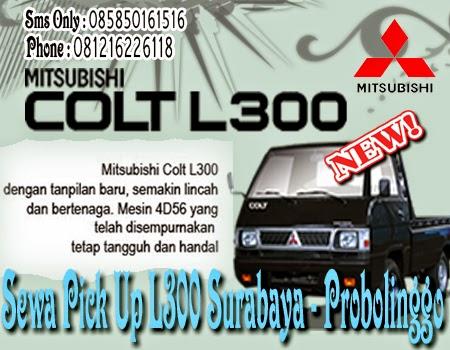 Sewa Pick Up L300 Surabaya - Probolinggo