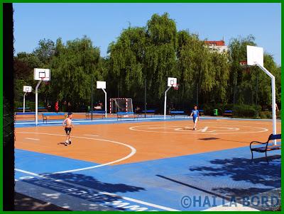 teren baschet parcul lumea copiilor