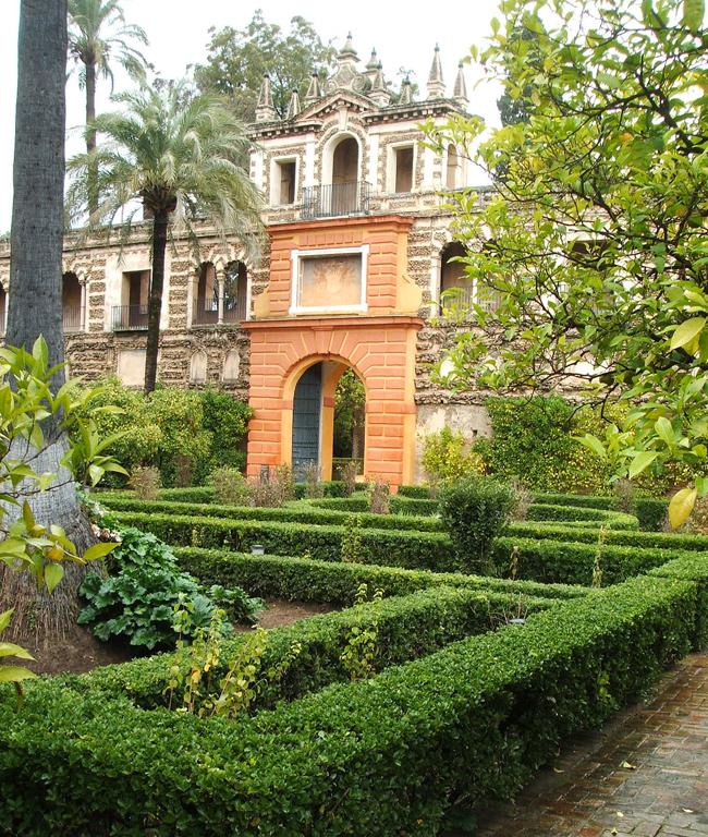 Jardines del alc zar de sevilla parte ii paisaje libre Villa jardin donde queda