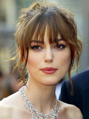 Keira Knightley Hairstyles Pictures   Female Celebrity Hairstyle Ideas