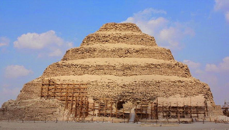 Egypt's Step Pyramid at risk of 'catastrophic collapse'
