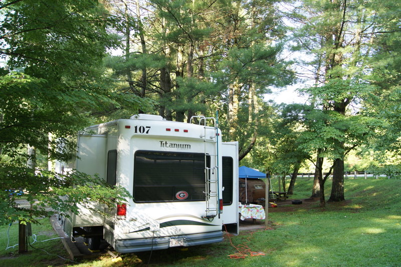 Rv Campsites And Reviews 6 26 11 Moccasin Creek State