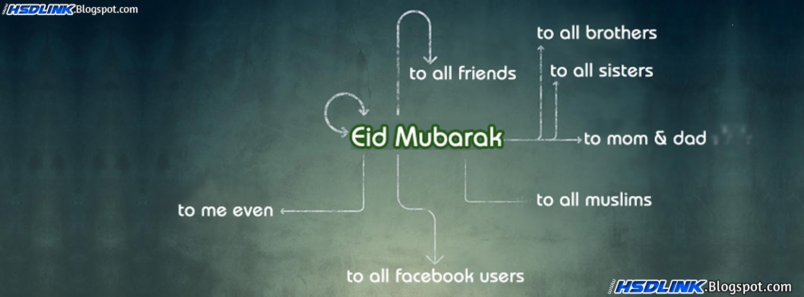 Free Eid Mubarak Cover Timeline Photos For Facebook 2012 2013 2014 2015 2016 2017 Download