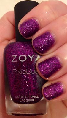 Zoya, Zoya Fall 2013 PixieDust Collection, Zoya nail polish, textured nail polish, matte nail polish, glitter nail polish, Zoya Carter