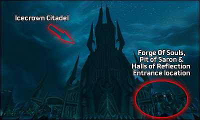 forge of sould entrance portal location