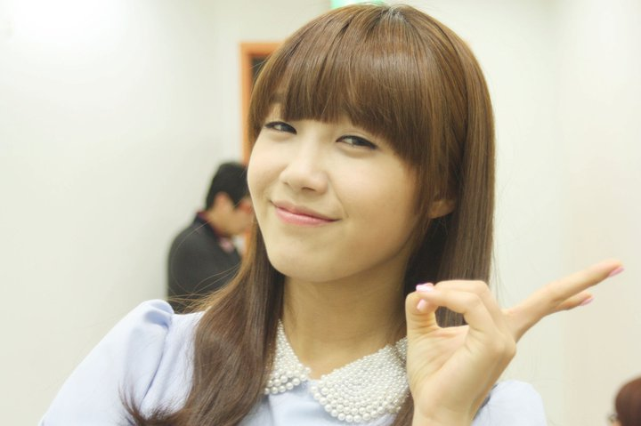 Pink Eunji Pre Debut Before her debut with a pink,