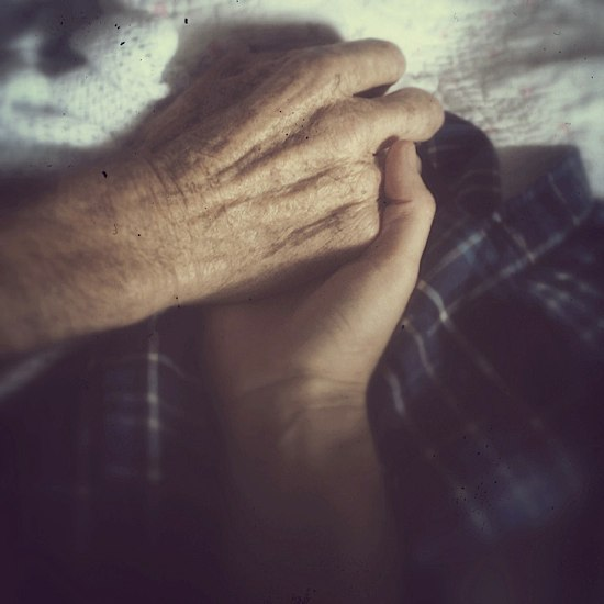Holding My Father's Hand © Paula Broom