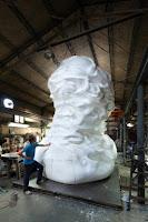 Cel mai mare bust de otel din Elvetia