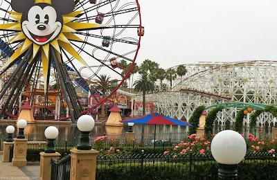 California Screamin' DCA Mickey's Fun Wheel coaster Disney